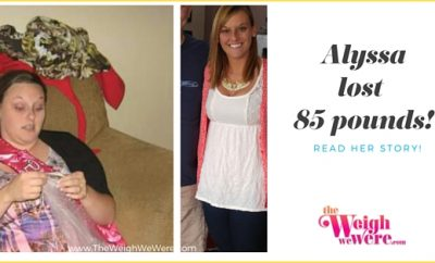 Alyssa lost 85 pounds!
