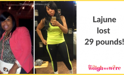 29 Pounds Lost: A woman who decided to go for it!