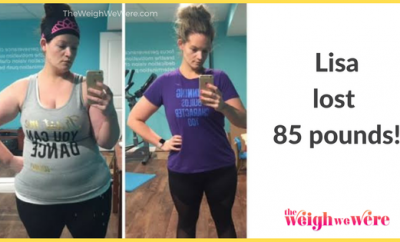 85 Pounds Lost: Drop it don't stop it!