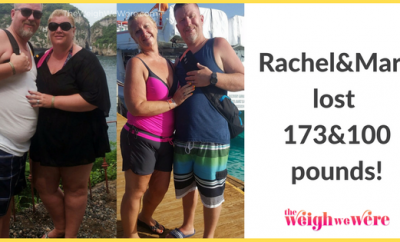 Rachel/Mark Lost 173/100 Pounds