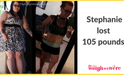 Stephanie Lost 105 Pounds