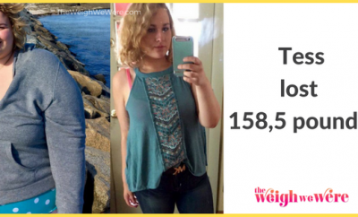 158.5 Pounds Lost: The Weight is Over