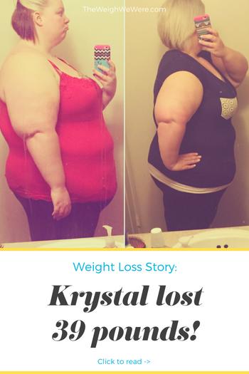 Krystal Lost 39 Pounds