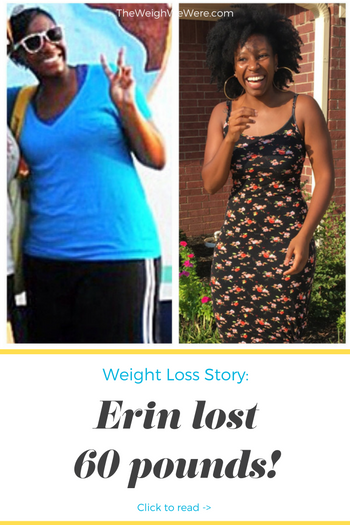 Great success story! Read before and after fitness transformation stories from women and men who hit weight loss goals and got THAT BODY with training and meal prep. Find inspiration, motivation, and workout tips | Erin Lost 60 Pounds but Discovered Her True Self