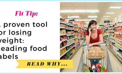 A proven tool for losing weight: Reading food labels| via TheWeighWeWere.com