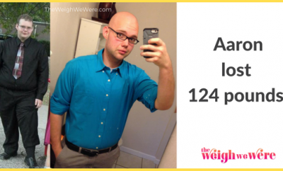 Aaron Lost 124 Pounds