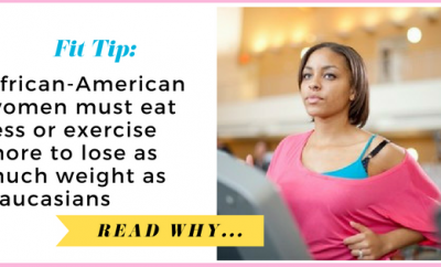 African-American women must eat less or exercise more to lose as much weight as Caucasians| via TheWeighWeWere.com