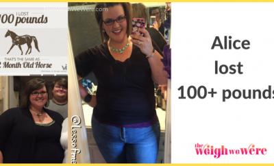 Alice Lost 100 Pounds
