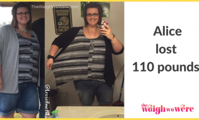 Alice Lost 110 Pounds