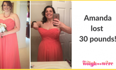 Amanda Lost 30 Pounds
