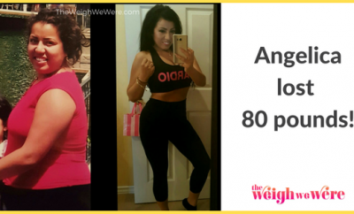 Angelica Lost 80 Pounds