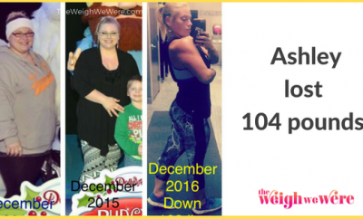 Ashley Lost 104 Pounds