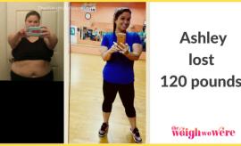 Ashley Lost 120 Pounds