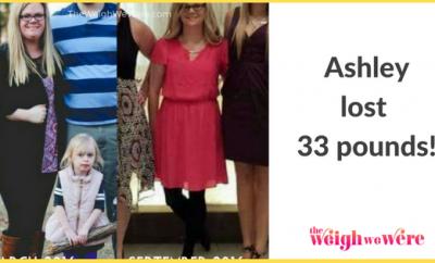 33 Pounds Lost: Lose it!