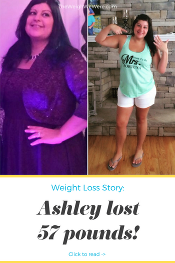 Ashley Lost 57 Pounds