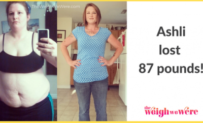 Ashli Lost 87 Pounds