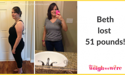 51 Pounds Lost: Redefining myself as a wife, mom, and person