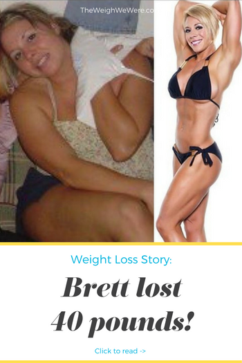 Great success story! Read before and after fitness transformation stories from women and men who hit weight loss goals and got THAT BODY with training and meal prep. Find inspiration, motivation, and workout tips | 40 Pounds Lost: Recovered Emotional Eater