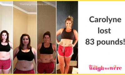 Carolyne Lost 83 Pounds