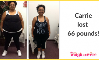 Carrie Lost 66 Pounds