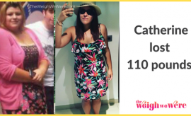 Catherine Lost 110 Pounds