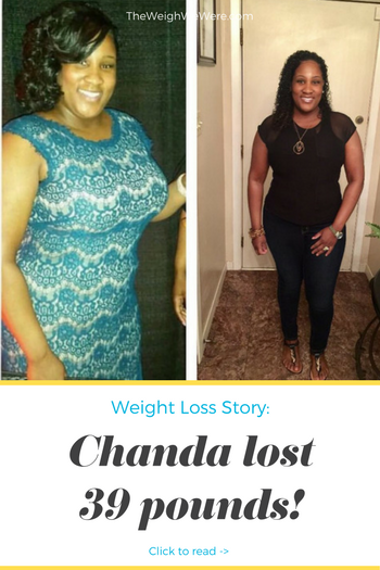 Great success story! Read before and after fitness transformation stories from women and men who hit weight loss goals and got THAT BODY with training and meal prep. Find inspiration, motivation, and workout tips | 39 Pounds Lost: Chandas Weight loss Journey