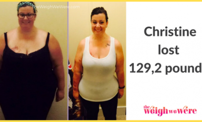 Christine Lost 129.2 Pounds