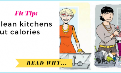 Clean Kitchens Cut Calories Cluttered Kitchens Cause Over-Snacking| via TheWeighWeWere.com