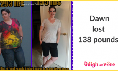 138 Pounds Lost: A diet is temporary–138lbs is life changing.