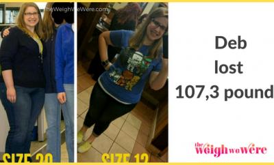 Deb Lost 107 Pound