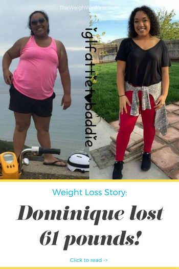 Great success story! Read before and after fitness transformation stories from women and men who hit weight loss goals and got THAT BODY with training and meal prep. Find inspiration, motivation, and workout tips | 61 Pounds Lost: My Journey: From a Fattie To a Baddie