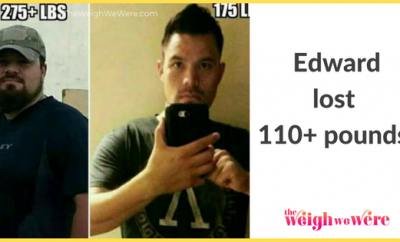 Edward Lost 110 Pounds