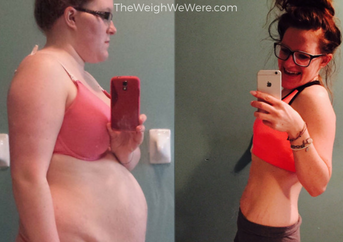 97 Pounds Lost:  From Depressive to Expressive