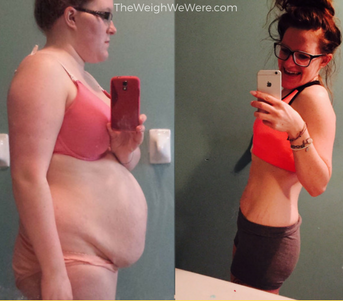 Great success story! Read before and after fitness transformation stories from women and men who hit weight loss goals and got THAT BODY with training and meal prep. Find inspiration, motivation, and workout tips | 97 Pounds Lost:  From Depressive to Expressive