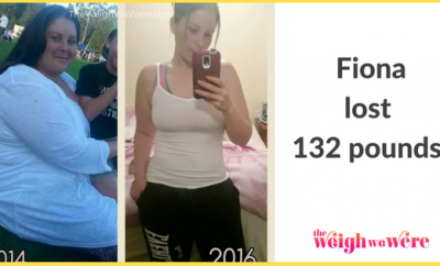 132 Pounds Lost: fionas fat to fit journey
