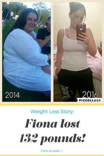 Great success story! Read before and after fitness transformation stories from women and men who hit weight loss goals and got THAT BODY with training and meal prep. Find inspiration, motivation, and workout tips | 132 Pounds Lost: fionas fat to fit journey