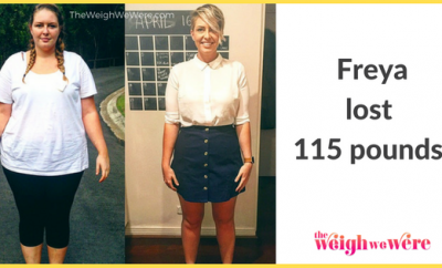 Freya Lost 115 Pounds