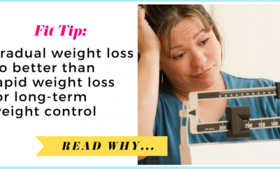 The Lancet Diabetes & Endocrinology: Gradual weight loss no better than rapid weight loss for long-term weight control| via TheWeighWeWere.com