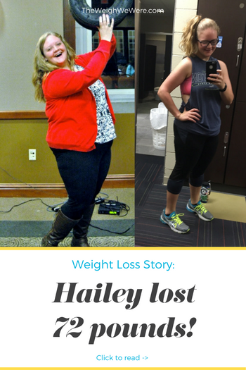 Hailey Lost 72 Pounds