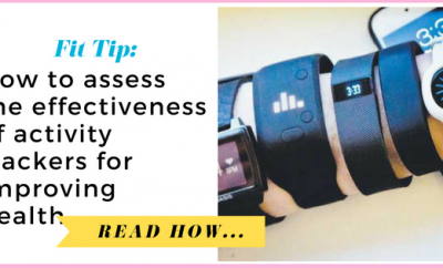 How to assess the effectiveness of activity trackers for improving health| via TheWeighWeWere.com