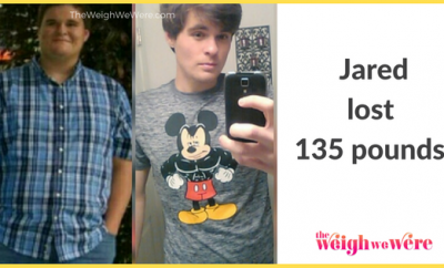 Jared lost 135 pounds