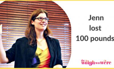 Jenn Lost 100 Pounds