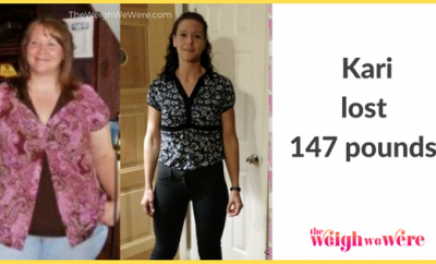 147 Pounds Lost:  Becoming 1/2 of me!