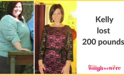 Kelly Lost 200 Pounds