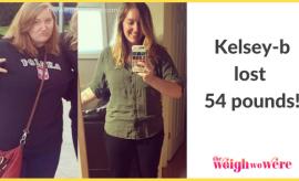 Kelsey Lost 54 Pounds