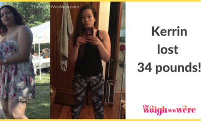 Kerrie Lost 34 Pounds
