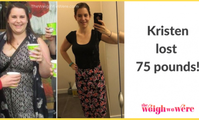 Kristen Lost 75 Pounds