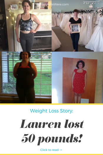 Lauren Lost 50 Pounds