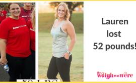 Lauren Lost 52 Pounds