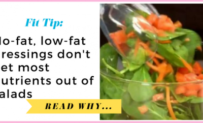 Study: No-fat, low-fat dressings don't get most nutrients out of saladsStudy: No-fat, low-fat dressings don't get most nutrients out of saladsStudy: No-fat, low-fat dressings don't get most nutrients out of salads| via TheWeighWeWere.com